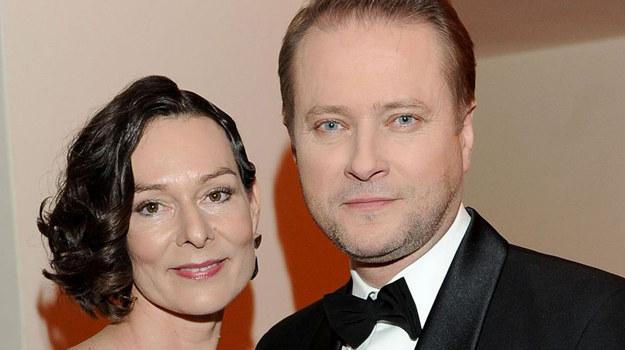 Artur Żmijewski z żoną Pauliną /fot  /Agencja W. Impact