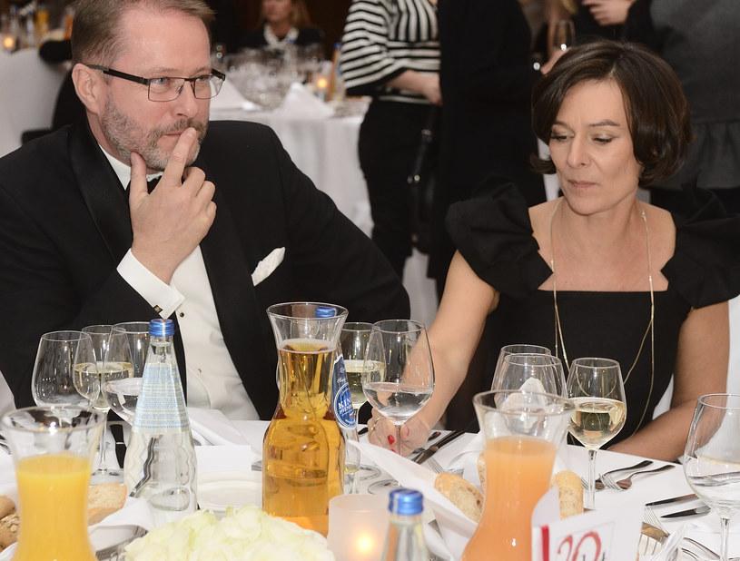 Artur Żmijewski z żoną /Antoniak /MWMedia