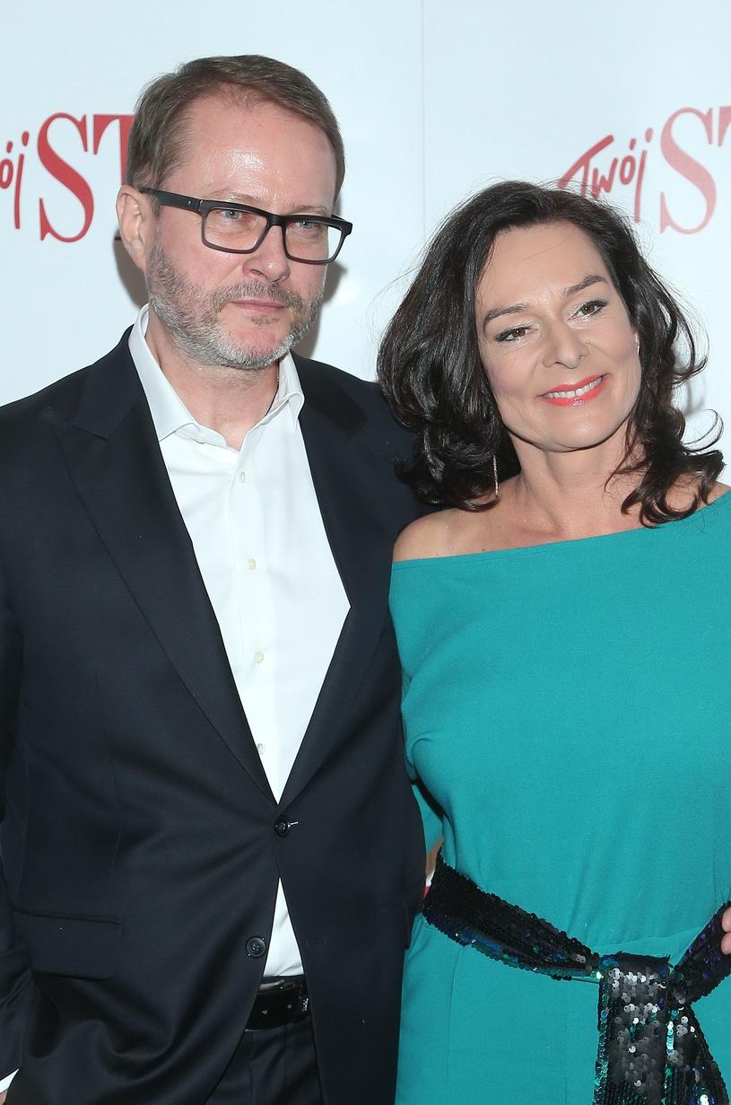 Artur Żmijewski z żoną /Paweł Wrzecion /MWMedia