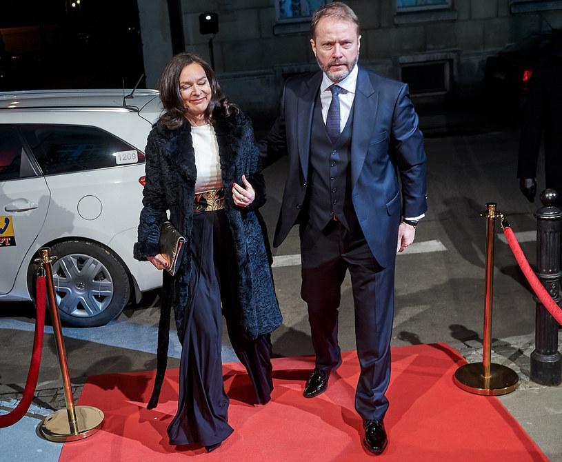 Artur Żmijewski z żoną /Michał Wargin /East News