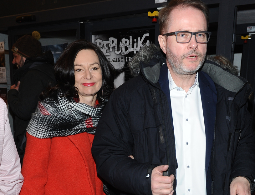Artur Żmijewski z żoną /Piotr Andrzejczak /MWMedia