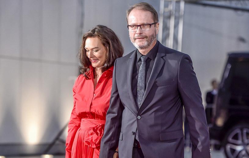 Artur Żmijewski z żoną / Jacek Kurnikowski /AKPA