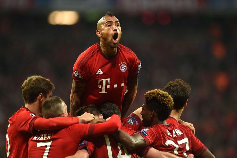 Arturo Vidal (Bayern Monachium) /AFP