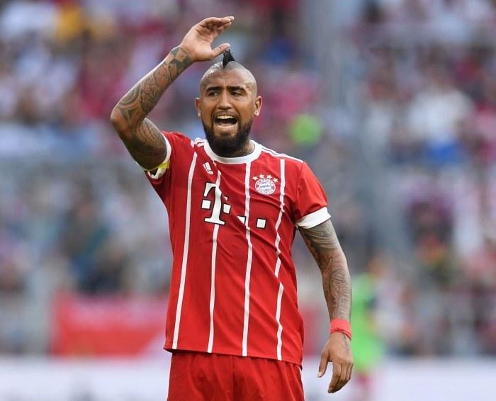 Arturo Vidal, gwiazdor Bayernu Monachium /AFP