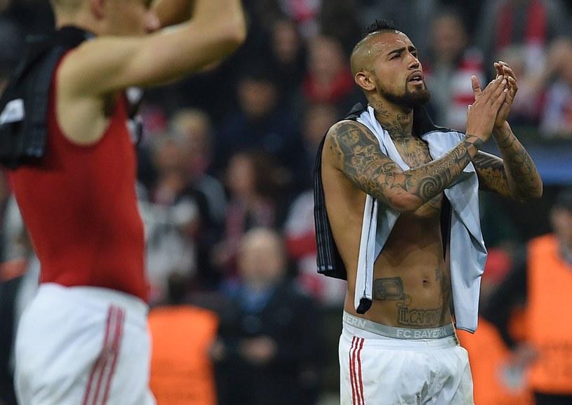 Arturo Vidal po meczu Bayern - Real /AFP