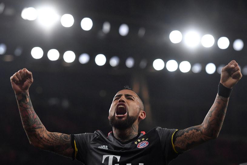 Arturo Vidal, pomocnik Bayernu Monachium /AFP