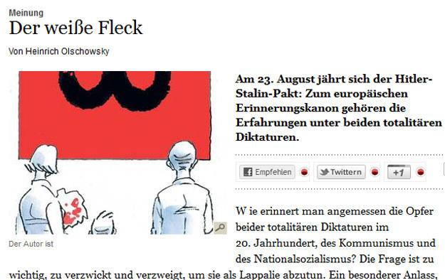 """Artykuł ukazał się w niemieckim dzienniku """"Tagespiegel"""". /http://www.tagesspiegel.de /materiały prasowe"""