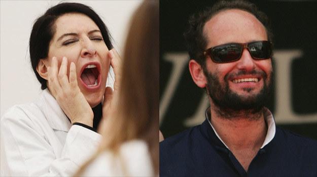 Artystka Marina Abramović (L) i reżyser Carlos Reygadas (P) będą gwiazdami Nowych Horyzontów. /Getty Images/Flash Press Media