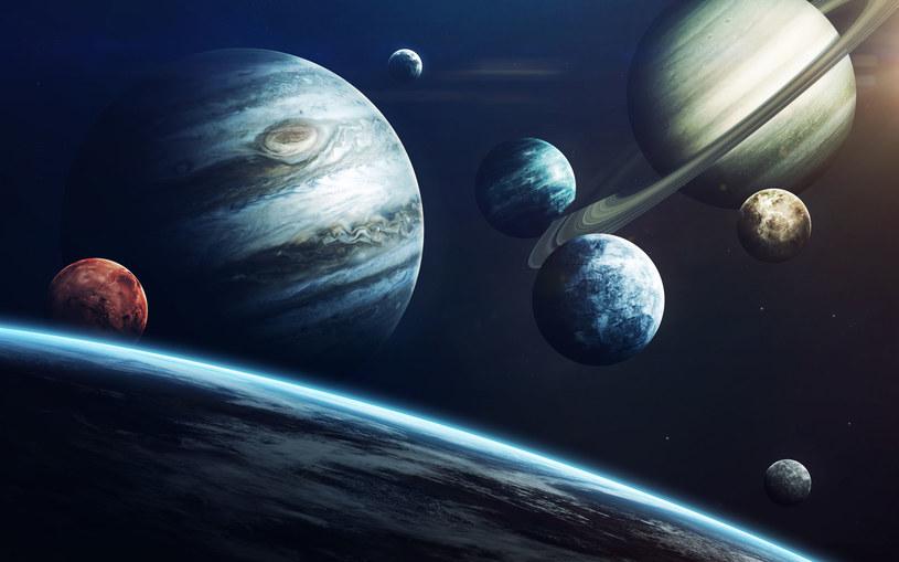 Artystyczna wizja Układu Słonecznego /123RF/PICSEL