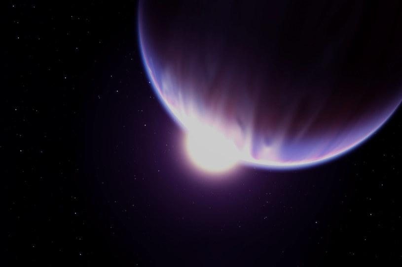 Artystyczna wizualizacja obcej planety /123RF/PICSEL