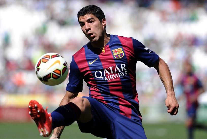As Barcelony Luis Suarez /AFP