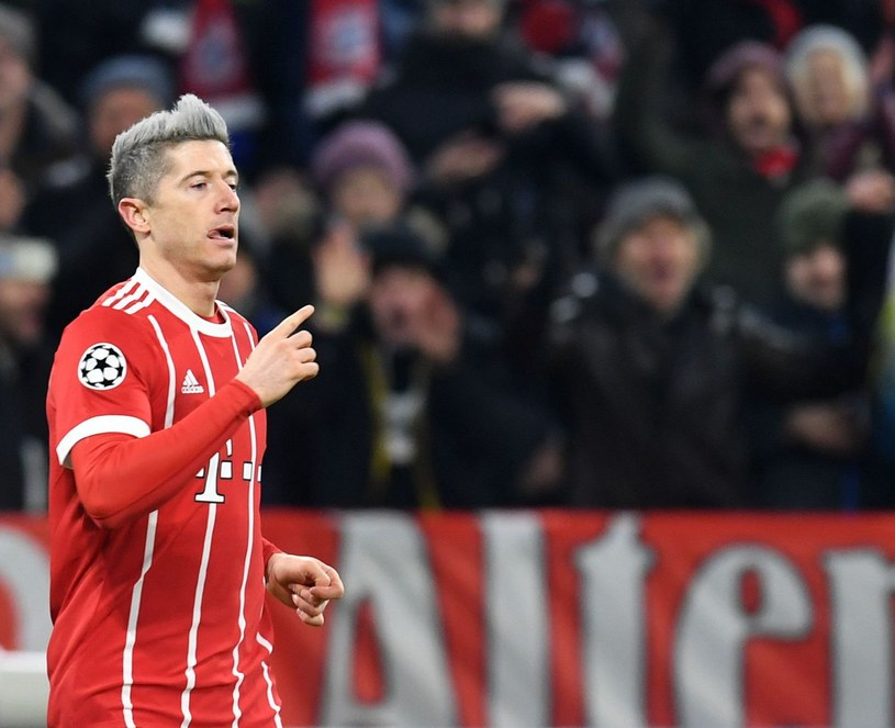 As Bayernu Monachium - Robert Lewandowski /AFP