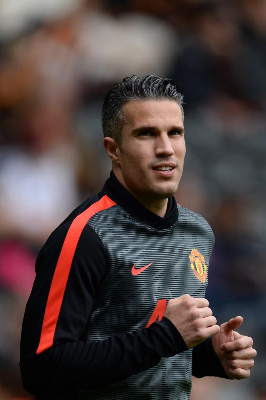 As Manchesteru United Robin van Persie /AFP