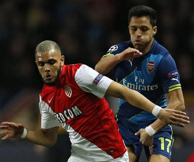 AS Monaco - Arsenal 0-2 w Lidze Mistrzów