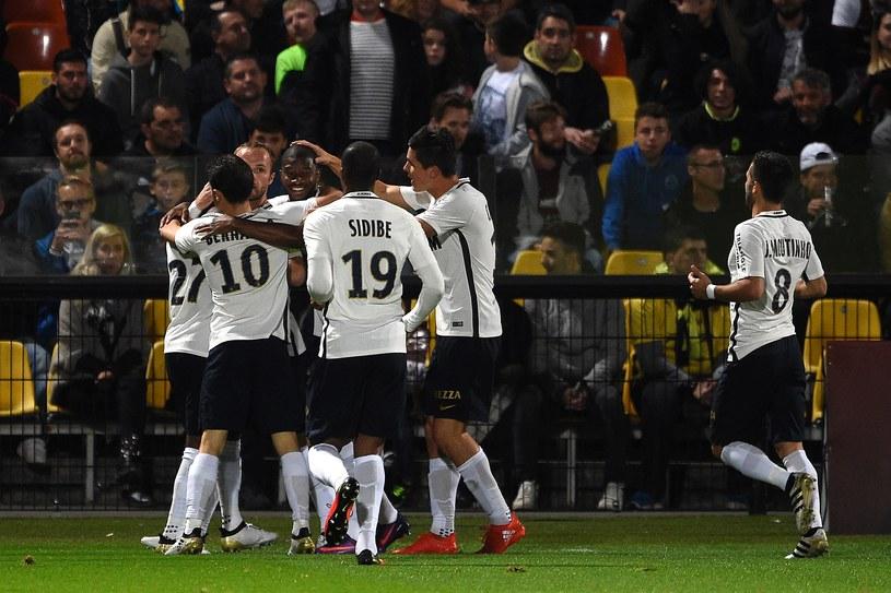 AS Monaco bardzo szybko rozwiało nadzieje beniaminka i już w 7. minucie objęło prowadzenie /AFP