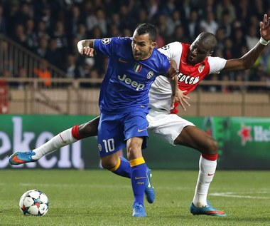 AS Monaco - Juventus Turyn 0-0 w Lidze Mistrzów