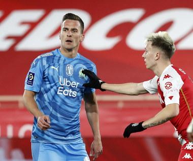 AS Monaco - Olympique Marsylia 3-1 w 21. kolejce Ligue 1. Debiut Arkadiusza Milika
