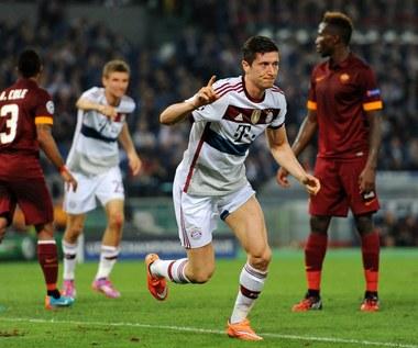 AS Roma - Bayern Monachium 1-7 w Lidze Mistrzów