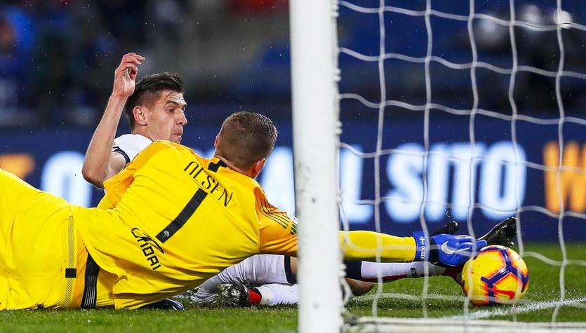 AS Roma - Genoa 3-2. Gol Krzysztofa Piątka