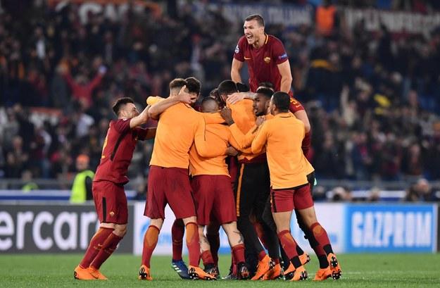 AS Roma pokonała Barcelonę 3:0 /PAP/EPA