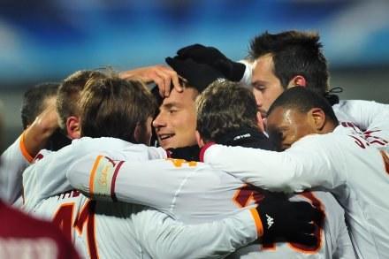 AS Roma wygrała z CFR Cluj 3:1 /AFP