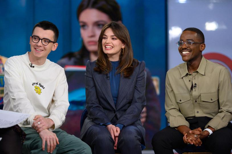 Asa Butterfield, Emma Mackey, Ncuti Gatwa /NBC / Contributor /Getty Images