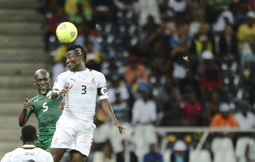 Asamoah Gyan, piłkarz reprezentacji Ghany /AFP