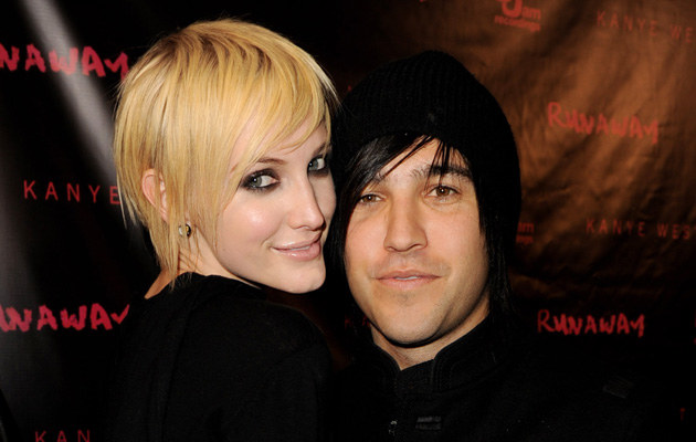 Ashlee Simpson, Pete Wentz, fot.Kevin Winter   /Getty Images/Flash Press Media