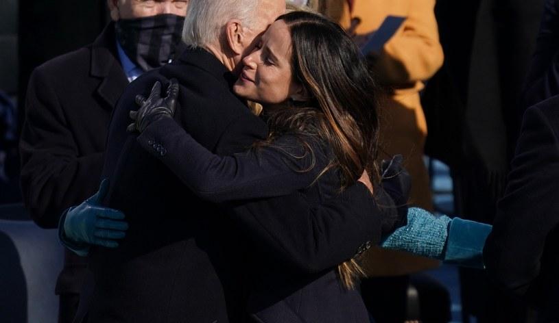 Ashley Biden na zaprzysiężeniu Joe Bidena /Pool /Getty Images