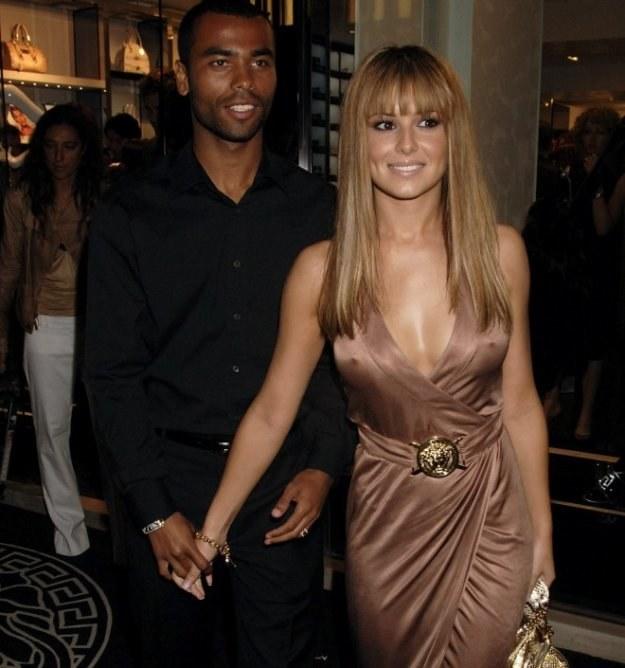 Ashley Cole z byłą już żoną Cheryl Cole /AFP