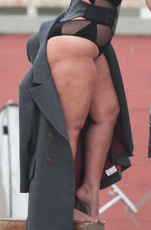 Ashley Graham przed retuszem /East News