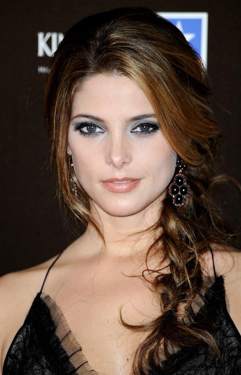 """Ashley Green taki makijaż wybrała  na premierę  """"Zmierzchu"""" w Madrycie  /Getty Images/Flash Press Media"""