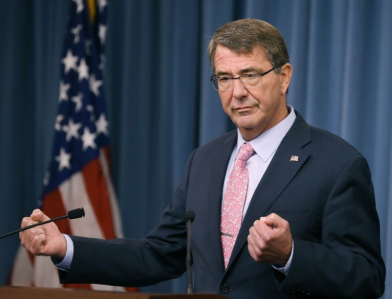 Ashton Carter /AFP