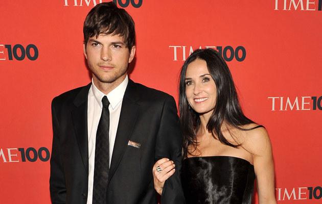 Ashton Kutcher i Demi Moore, fot. Theo Wargo  /Getty Images/Flash Press Media