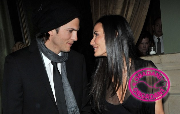 Ashton Kutcher i Demi Moore /- /Getty Images