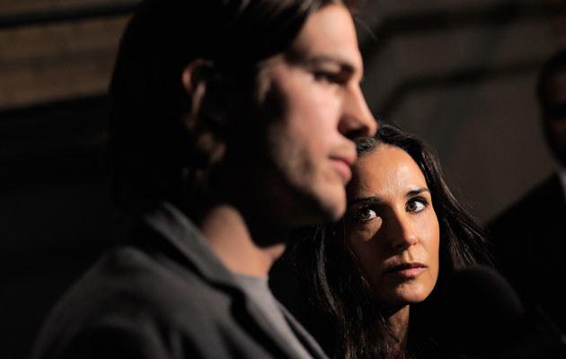 Ashton Kutcher i Demi Moore /Jemal Countess /Getty Images