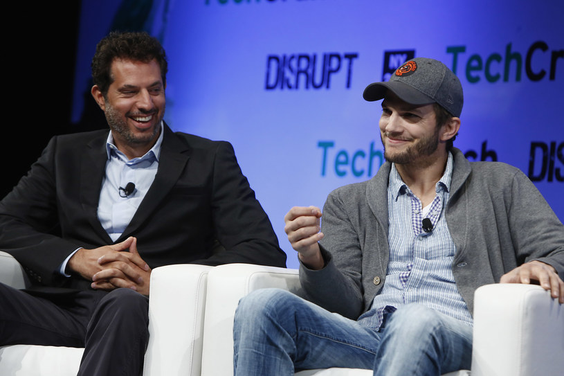 Ashton Kutcher i  Guy Oseary /Brian Ach /Getty Images