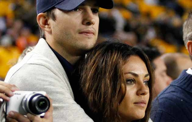 Ashton Kutcher i Mila Kunis /Justin K. Aller /Getty Images