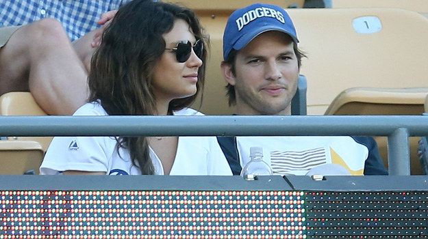 Ashton Kutcher i Mila Kunis /Stephen Dunn /Getty Images