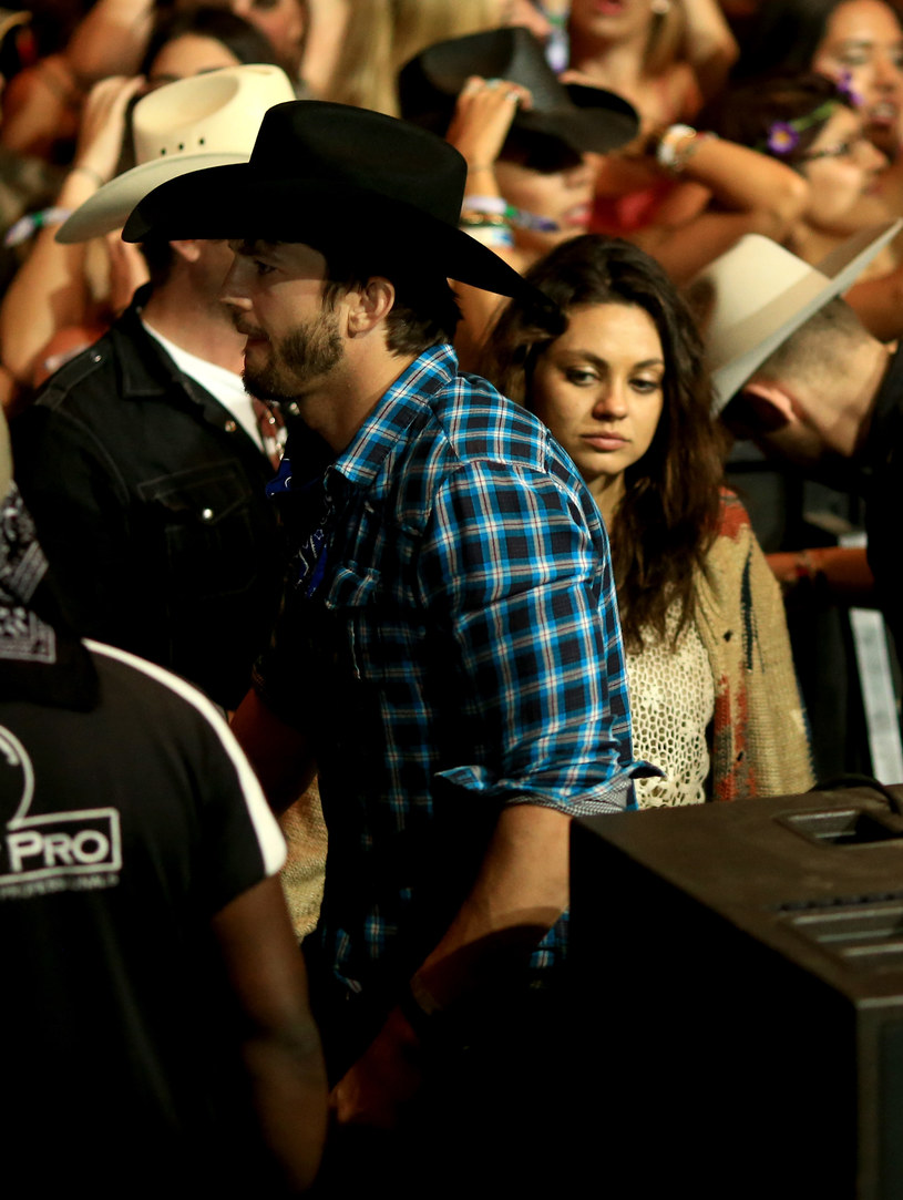 Ashton Kutcher i Mila Kunis /Christopher Polk /Getty Images