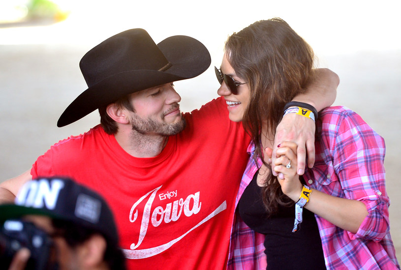 Ashton Kutcher i Mila Kunis /Getty Images