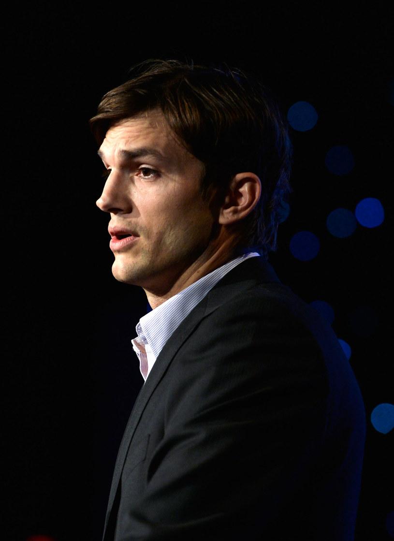 Ashton Kutcher /Frazer Harrison /Getty Images