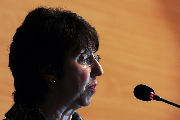 Ashton zapowiada odpowiedź UE na działania Kadafiego /AFP