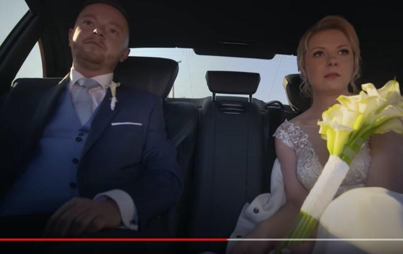 """Asia i Adam w programie """"Ślub od pierwszego wejrzenia"""" /TVN7 /materiał zewnętrzny"""