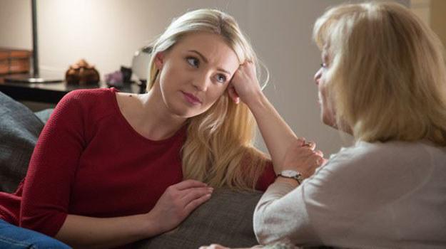 Asia powie matce o swojej wielkiej miłości /www.mjakmilosc.tvp.pl/