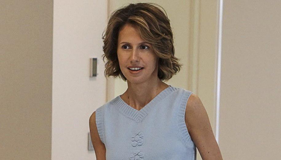 Asma al-Assad /SYRIAN PRESIDENCY PALACE MEDIA OFFICE /PAP/EPA