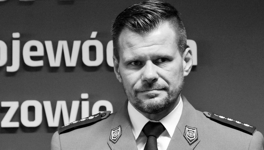 Aspirant sztabowy Adam Pawlak /Policja
