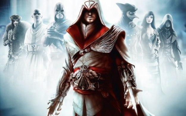 Assassin's Creed: Brotherhood - motyw graficzny /Informacja prasowa