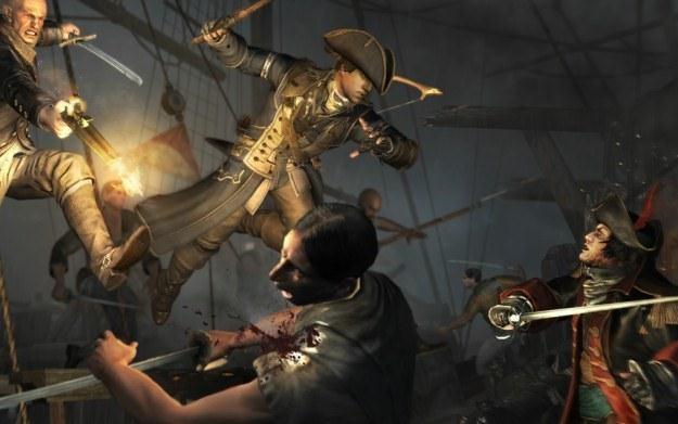 Assassin's Creed III - motyw graficzny /Informacja prasowa