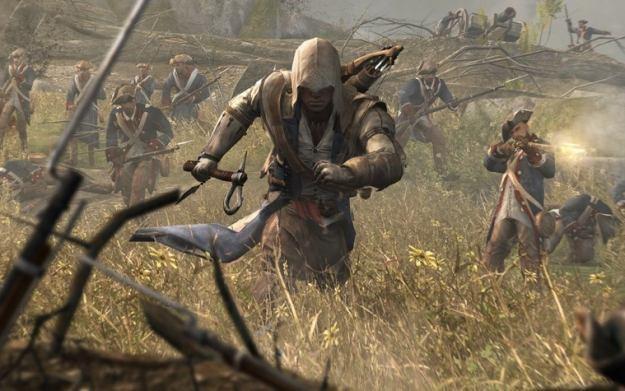 Assassin's Creed III - motyw graficzny /